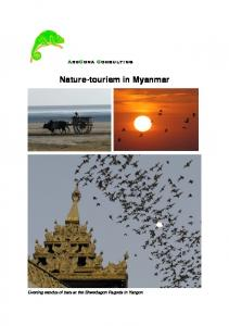 Nature-tourism in Myanmar
