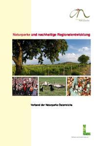 Naturparke und nachhaltige Regionalentwicklung