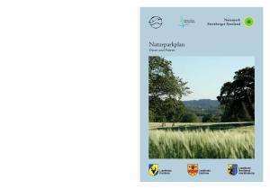 Naturparkplan Daten und Fakten