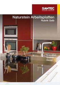 Naturstein Arbeitsplatten Rubrik Gelb