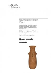 Naukratis: Greeks in Egypt