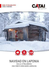 NAVIDAD EN LAPONIA SALLA (FINLANDIA)