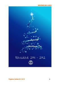 NAVIDAD Programa Navidad