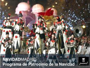 NAVIDADMADRID Programa de Patrocinio de la Navidad