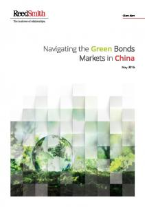 Navigating the Green Bonds Markets in China