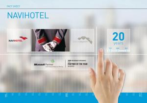 NAVIHOTEL FACT SHEETS. CONTACT Phone Number: