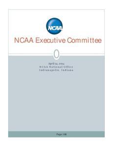 NCAA Executive Committee