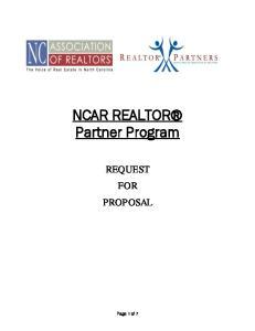 NCAR REALTOR Partner Program
