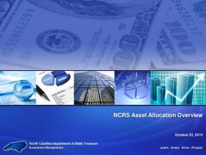 NCRS Asset Allocation Overview