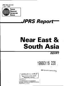 Near East & South Asia