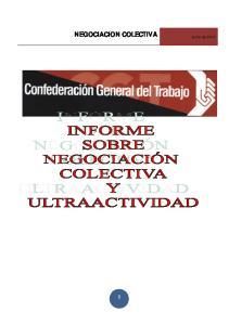 NEGOCIACION COLECTIVA junio de 2013