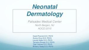 Neonatal Dermatology