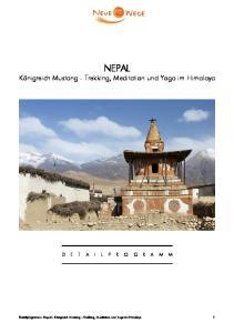 NEPAL Königreich Mustang - Trekking, Meditation und Yoga im Himalaya
