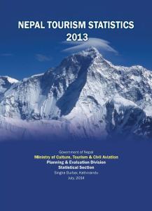 NEPAL TOURISM STATISTICS 2013