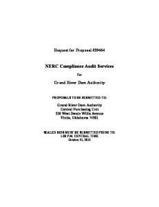 NERC Compliance Audit Services