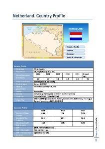 Netherland Country Profile