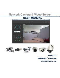 Network Camera & Video Server USER MANUAL