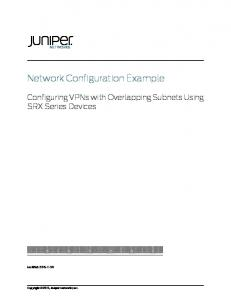 Network Configuration Example