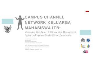 NETWORK KELUARGA MAHASISWA ITB: