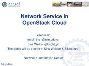 Network Service in OpenStack Cloud