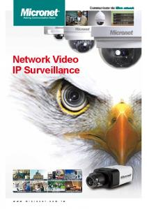 Network Video IP Surveillance
