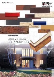 NEUBAU, UMBAU UND SANIERUNG