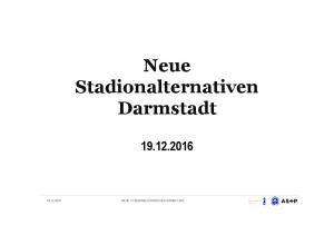 Neue Stadionalternativen Darmstadt