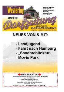 NEUES VON & MIT: - Landjugend - Fahrt nach Hamburg - Sandarchitektur - Movie Park