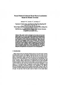 Neural Network Enhanced Sound Source Localization Model for Mobile Terminal