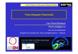 Neuroimagen Funcional