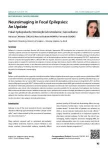 Neuroimaging in Focal Epilepsies: An Update