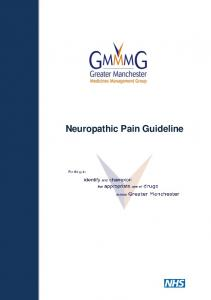 Neuropathic Pain Guideline