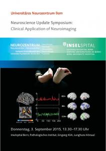 Neuroscience Update Symposium: Clinical Application of Neuroimaging