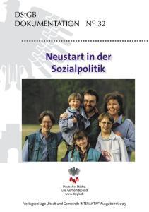 Neustart in der Sozialpolitik