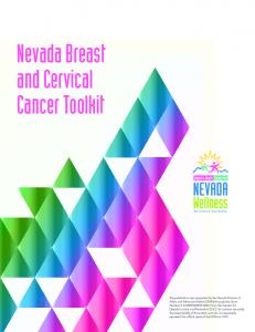 Nevada Breast and Cervical Cancer Toolkit