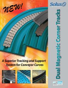 NEW! A Superior Tracking and Support System for Conveyor Curves