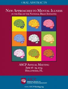 NEW APPROACHES TO MENTAL ILLNESS