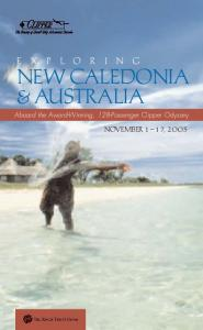 New Caledonia & Australia