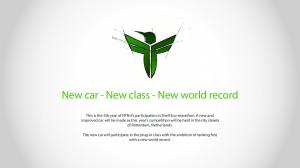 New car - New class - New world record