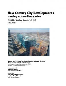New Century City Developments creating extraordinary value