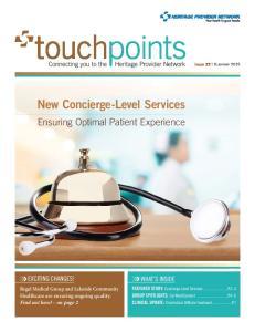 New Concierge-Level Services