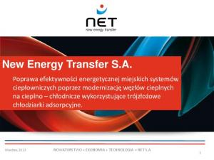 New Energy Transfer S.A