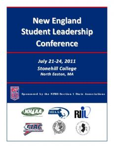 New England Student Leadership Conference