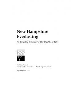 New Hampshire Everlasting
