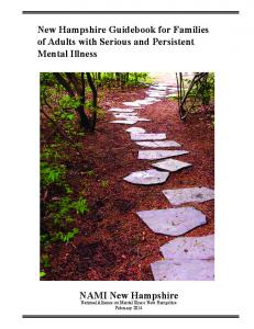 New Hampshire Guidebook for Families of Adults with Serious and Persistent Mental Illness