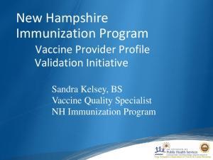New Hampshire Immunization Program