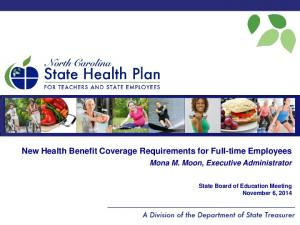 New Health Benefit Coverage Requirements for Full-time Employees