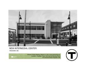 NEW INTERMODAL CENTER