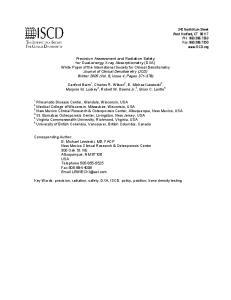 New Mexico Clinical Research & Osteoporosis Center, Albuquerque, New Mexico, USA