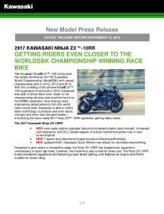 New Model Press Release